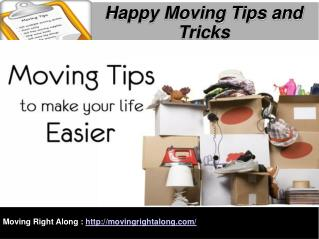 Happy Moving Tips and Tricks