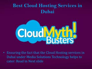 Cloud Based Service and IT Support Solutions Dubai