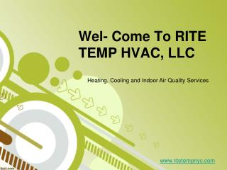 RITE TEMP HVAC, LLC launches HVAC maintenance service