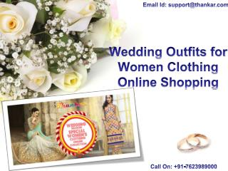 Wedding Outfits for Women Clothing Online Shopping