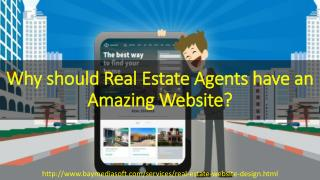 Why Should Real estate agents have a Website | Real Estate Website Design | USA
