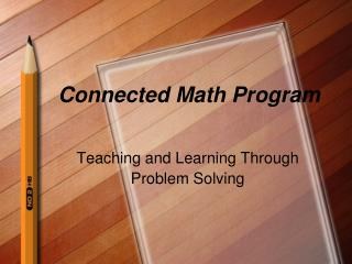 Connected Math Program