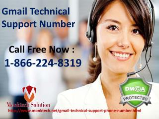 Dial TollFree 1-866-224-8319 Gmail Technical Support Number for USA & CANADA