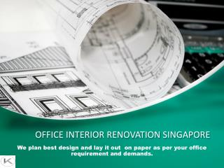 Office Interior Renovation Singapore