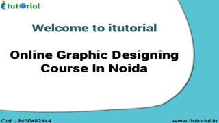 Online Graphic Designing Course In Noida