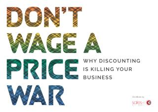 Why Discounting Is Killing Your Business