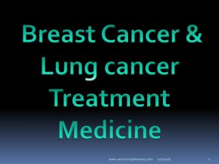 Breast Cancer, Lung cancer, Gefitinib 250 mg Tablet