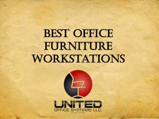 Best Office Furniture Workstations