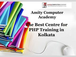 The Best Centre for PHP Training in Kolkata