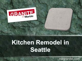 Kitchen Remodel in Seattle