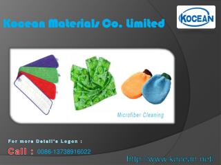 High Effectiveness of Microfiber Cleaning Products is Online