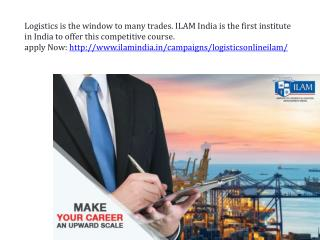Ilam india is the first institute in india to offer this competitive course