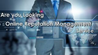 Online Reputation Management Company