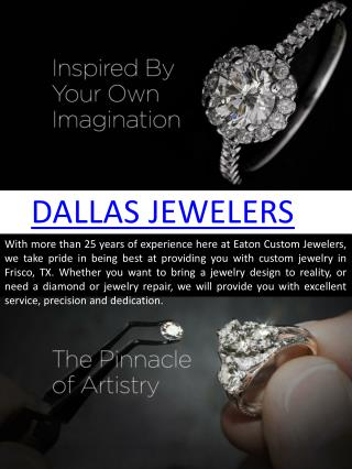 Custom jewelry dallas
