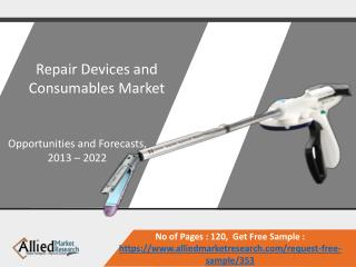 Hernia Repair Devices and Consumables Market is Expected to Reach $6.1 Billion, Globally, by 2020