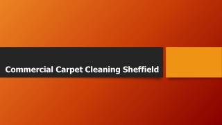Commercial Carpet Cleaning Sheffield