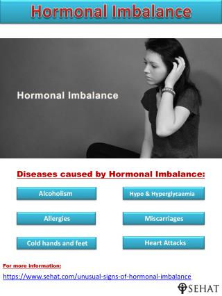 Unusual Signs of Hormonal Imbalance You Shouldn't Ignore | Sehat