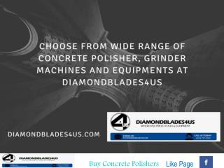 Concrete Grinding and Polishing