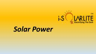 solar emergency light-isolarlite
