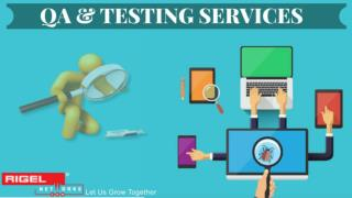 QA & Testing Services by Rigel Networks