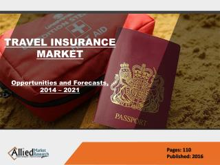 Travel Insurance Market Size, Global Industry 2022