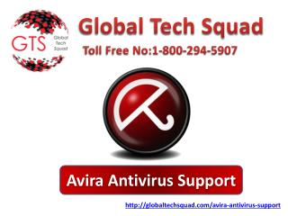 Avira antivirus Tech Support In USA Toll Free:1-800-294-5907
