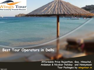 best tour operators in delhi