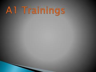 A1 trainings | software online training