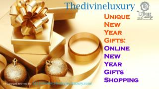 Thedivineluxury Unique New Year Gifts: Online New Year Gifts Shopping