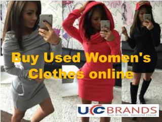 Here You Buy Used Women's Clothes online