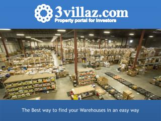 Looking to Warehouses for Rent in Dubai?
