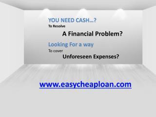 Short term loans for bad credit