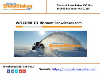 Snow Removal Equipment and Tools
