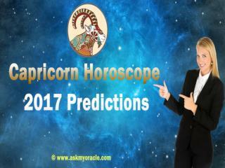 Capricorn Career Horoscope 2017 | Capricorn 2017 Astrology Forecast