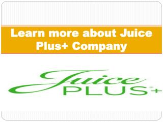 Juice Plus  Company