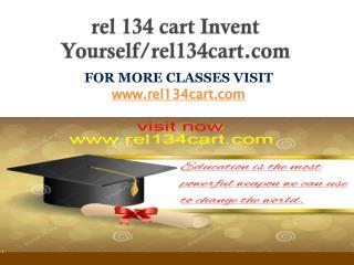 rel 134 cart Invent Yourself/rel134cart.com
