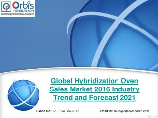 Global Hybridization Oven Sales Market Size, Business Growth and Opportunities Report 2016