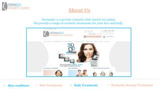 Dermadoc Clinic - Guide to Skin Treatment in London