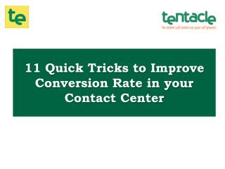 11 Ways to Improve Your Conversion Rate in your Call Center