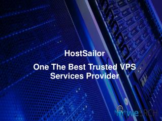 HostSailor:- One Of Best Trusted VPS Service Provider