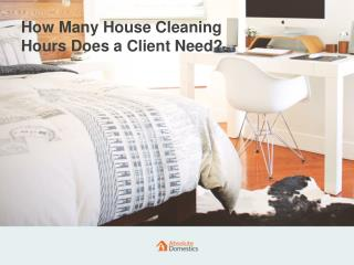 How Long Does a Home Cleaning Session Take?