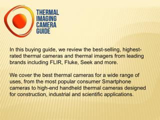 Best Thermal Cameras