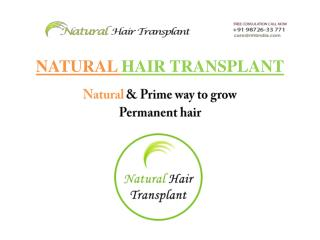 Hair Transplant in India - Natural Hair Transplant