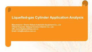 JOINT Pulsed MIG Welder for Liquefied Gas Cylinder