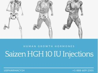 Saizen 10IU - Human Growth Hormones For Children