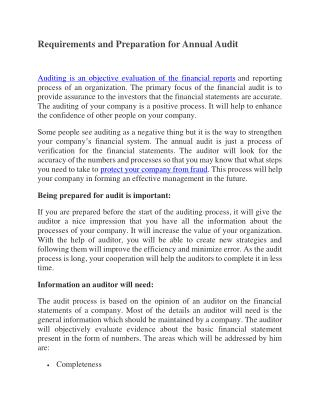 Requirment and Preparation for Financial Audit.pdf