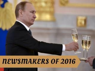 Newsmakers of 2016