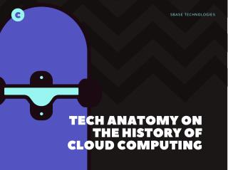 Tech Anatomy on the history of Cloud Computing