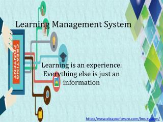 Comprehensive Learning Management System