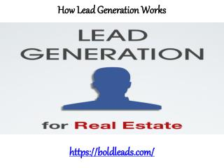 BoldLeads Reviews - How lead generation works